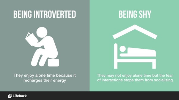 Introverted vs Shy